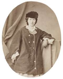 Portret van Martine Henriette Conrad (1835-1880)