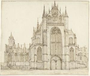 De Hooglandse kerk te Leiden