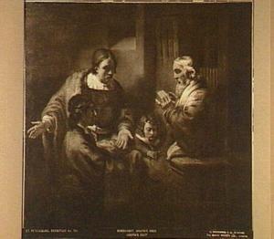 Jacob ontvangt Jozefs bebloede mantel (Genesis 37:32-35 )