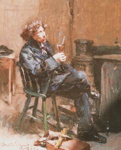 Portret van David de la Mar (1832-1898)