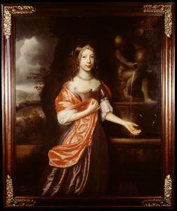 Portret van Volkera Pauw (1658-1674)