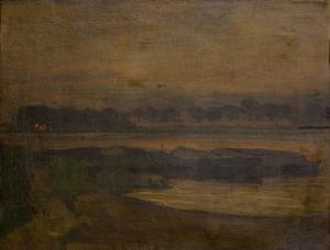 On Ouderkerkerdijk near the Omval in the evening II