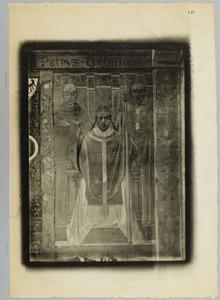 Paus Urbanus met de reguliere en de seculiere geestelijkheid