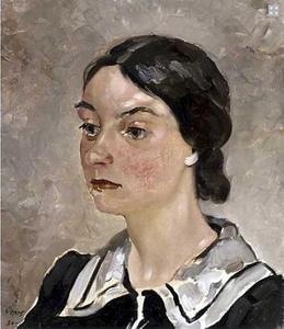 Portret van Nelly Teunisse (1910-1977)