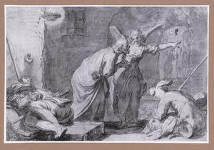 Bevrijding van Peterus uit de gevangenis