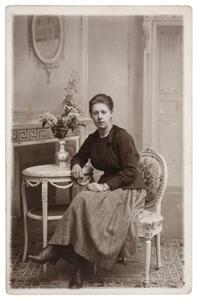 Portret van Johanna van der Wal (1900-1966)