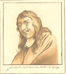 Portret van Nicolaes van Helt Stockade (1614/1615-1669)