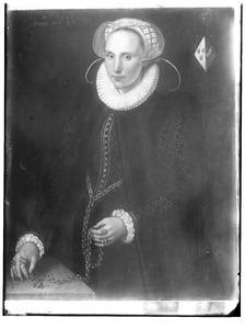 Portret van Maria van Melisdyck (1556- )