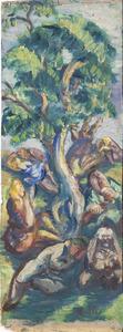 Die sieben Todsünden unter einem Baum (authentiek)