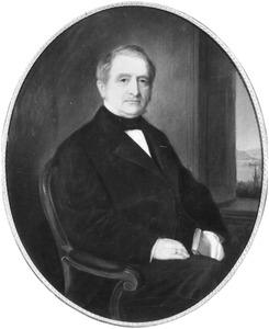 Portret van Herman Hendrik Roell (1806-1883)