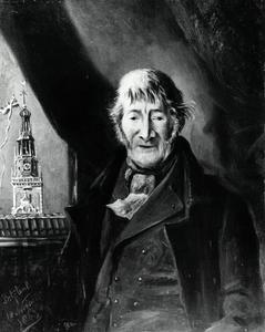 Portret van Johannes Douwes (1788-1866)