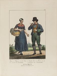 Een boer en boerin uit de omgeving Leeuwarden