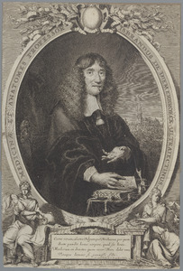 Portret van IJsbrand van Diemerbroeck (1609-1664)