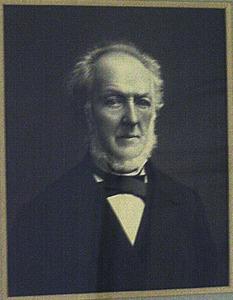 Portret van Otto Scheltus van Leusden (1814-1887)