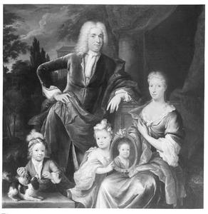 Portret van familie Martinus van Berckel (1700-1758)