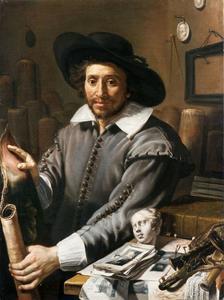 Portret van François Langlois (1588-1647)