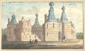 Kasteel Batenburg van de voorzijde