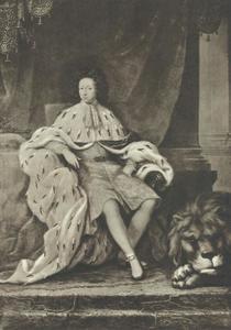 Portret van Karl XI (1655-1697), koning van Zweden
