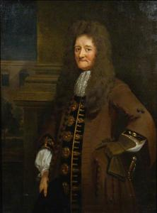 Portret van Sir Paul Rycault (1629–1700)