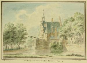 De oude Delftsche Poort te Rotterdam
