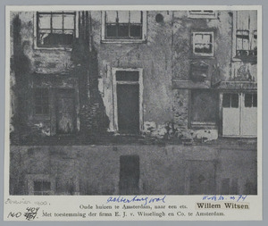 Oude huizen te Amsterdam