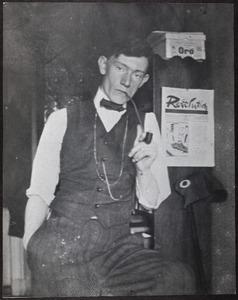 Herbert Fiedler in de rue Delambre 35, Parijs 1914