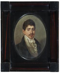 Portret van Charles Philippe Cecile Claire Henri Emile Sanche Othon Xavier Auguste de Preissac, duc de Fimarcon, duc d'Esclignac (1790-1873)