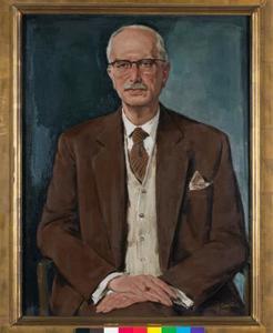 Portret van Dr. Ludwig Burchard