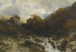 Herfst in de Alpen bij St. Gallen