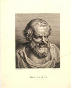 Buste van Democritus