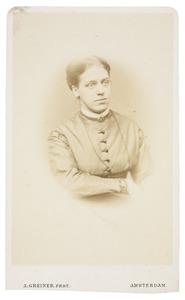 Portret van Alida Maria Tilanus (1843-1915)