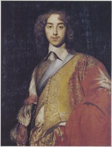 Portret van George Villiers, tweede hertog van Buckingham (1628-1687) als ridder van de Orde van de Kousenband
