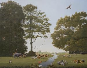 Adam en Eva in het aards paradijs (Genesis 2)