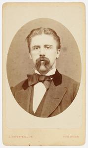 Portret van mr. Oosting