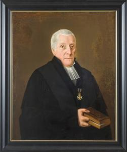 Portret van Jan Scharp