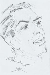 Portret van Otto Hanrath (1882-1944)