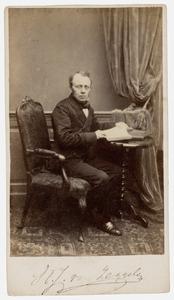 Portret van Willem Josephus van Zeggelen (1811-1879)