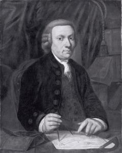 Portret van Barend Goudriaan (1728-1805)