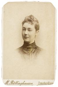 Portret van Agneta Margaretha Catharina van Reenen (1857-1940)