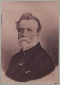 Portret van Isaack Petrus Marie Willinck (1829-1889)