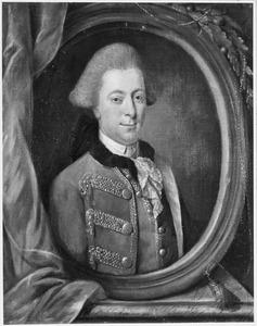 Portret van Borchard Herman Gansneb genaamd Tengnagel (1731-1787)