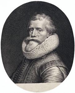 Portret van Paulus Moreelse (1571-1638)