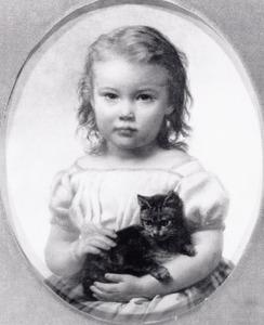 Portret van Josina Adriana Mees (1863-1948)