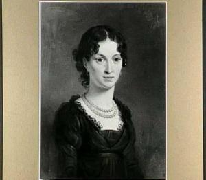 Portret van Maria Charlotte König (1785-1823)