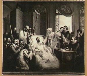 Het sterfbed van Peter Paul Rubens