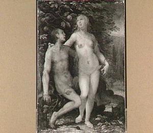 Adam en Eva in het paradijs (Genesis 3:4-6)