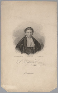 Portret van Sibrandus Stratingh (1785-1841)
