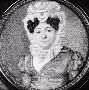 Portret van Catharina Louisa Antoinetta Anna du Tour van Bellinchave (1760-1837)