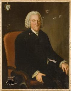 Portret van Andries Schimmelpenninck van der Oye (1705-1777)