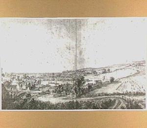 De Rijnpoort te Arnhem, vanuit het noorden gezien